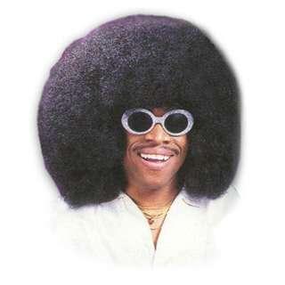 Wig, Super Fro, Black   Huge, bushy, black economy wig. One size