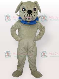 Big Dog with Collar Adult Mascot Costume  Big Dog with Collar Adult