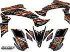 450 XC SX KTM GRAPHICS KIT ATV QUAD 4 WHEELER STICKERS DECALS DECO