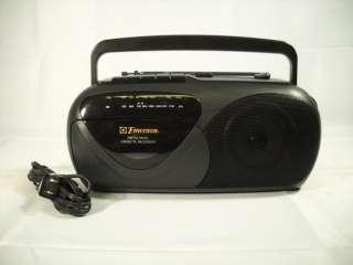 Emerson Am Fm Radio Cassette Tape Player Recoder Mini BoomBox Model