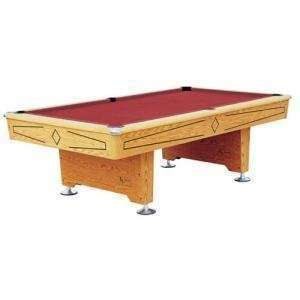 Playcraft Oak Knight 8 Foot Table: Sports & Outdoors
