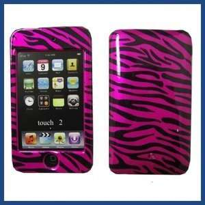 For Apple iPod Touch iTouch 2G 3G Zebra Hot Pink Case