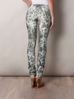 Itzel snake print low rise cord jeans  Isabel Marant  Matche