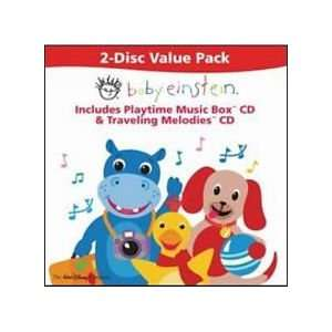 Baby Einstein Playtime Music Box and Traveling Melodies CD Toys