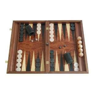 Rosewood Backgammon Board Game Set with Racks (19 Wood