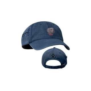 Weimaraner Blue Baseball Cap with Profile Clothing