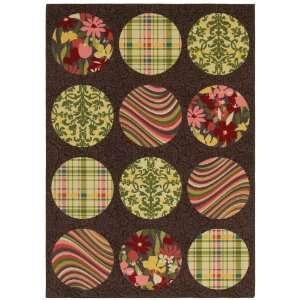 Pop Patterns 33 x 48 Teddy Bear Brown Area Rug Furniture & Decor