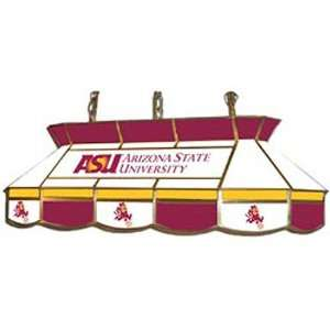 State Sun Devils Stained Glass Pool Table Light