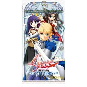 Type moon 2.0 Fate Stay Night Tsukihime Melty Blood Booster Pack Toys