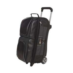 3 Ball Roller Black / Graphite Bowling Bag