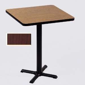 Correll Bxb30S 21 Cafe and Breakroom Tables   Square Bar