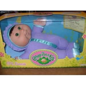 Cabbage Patch Kids CPK Jammies   Green Eyes, Brown Hair
