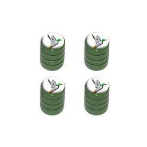Hunter Hunting   Tire Rim Wheel Valve Stem Caps   Green: Automotive