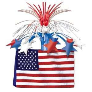 American Flag Centerpiece Case Pack 84   523853
