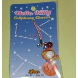 Hello Kitty Cellphone Charm   Leo Toys & Games