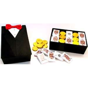 Gourmet Chocolates Assortment   Chocolate Playing Cards & Gold Coins
