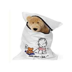 Teddy Needs A Bath Wash and Dry Laundry Bag