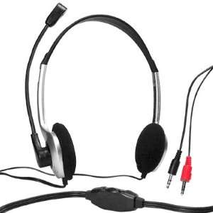 PC Computer Headphone Microphone Headset Earphones MSN