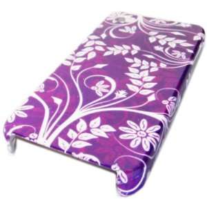 Flower Back Case Cover Hard Skin Protector Cell Phones & Accessories