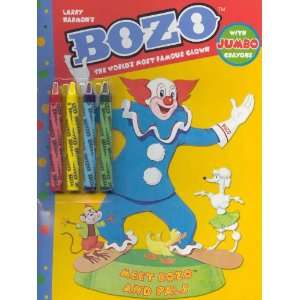 Meet Bozo and Pals Coloring Book with Crayons Toys & Games