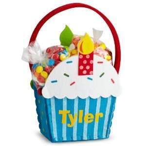 Cupcake Gift Basket   Boy   Birthday Gifts Home & Kitchen