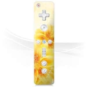 com Design Skins for Nintendo Wii Controller   Yellow Flowers Design