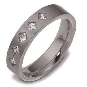 Diamond Comfort Fit Wedding Band Ring   4 Dora Rings Jewelry