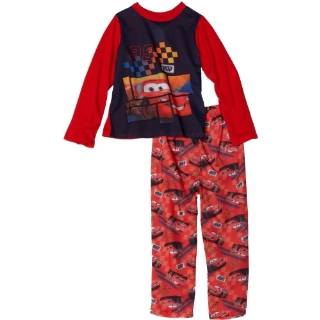 Disney Cars Toddler Boys Cars Hoodie Fleece Set: Clothing