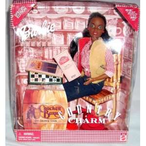 Country Charm Cracker Barrell African American Doll: Toys & Games