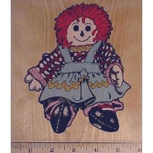 Franny Rag Doll Rubber Stamp Large Toys & Games