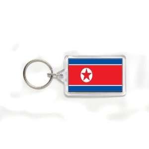 Korea Korean Flag Double Sided Acrylic Key Ring Small