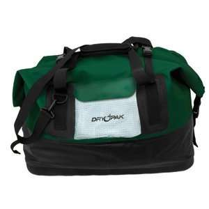 Dry Pak Waterproof Duffel Bag Green Large Electronics