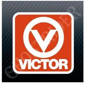 Victor V Vintage Emblem Logo Sticker Decal Everything