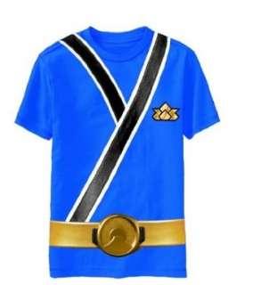 Blue Samurai Ranger Uniform Monster Toddler T shirt Tee Clothing