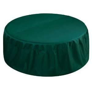 48 Fire Pit Cover   Deluxe Model in Hunter Green by Two