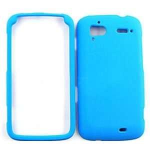 HTC Sensation 4G Fluorescent Solid Light Blue Hard Case/Cover