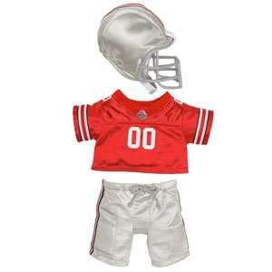 Build A Bear Workshop Ohio State Football Uniform 3 pc. Toys & Games