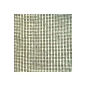 Green Forest   Checks with Ecru Curtain Valance