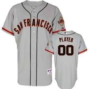San Francisco Giants Majestic  Any Player  Road Grey
