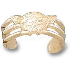 Chevy Corvette C5 Logo Toe Ring   10KT Gold Jewelry: