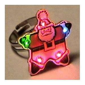 Santa Star Ring Body Light
