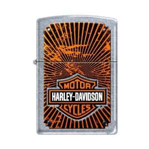 Zippo Harley Davidson Motorcycles Logo Street Chrome Lighter, 3572
