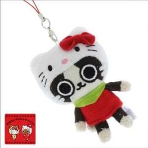 Sanrio Hello Kitty x Monster Hunter Plush Doll Cell Phone Charm