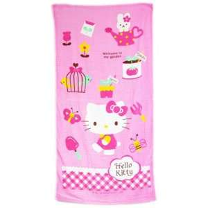 Sanrio Hello Kitty Bath Towel   Hello Kitty Beach Towel Toys & Games