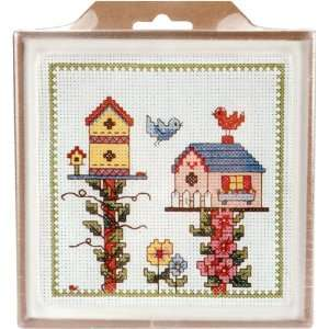 MCG Textiles Birdhouse Hot Plate (6 x 6):  Home & Kitchen
