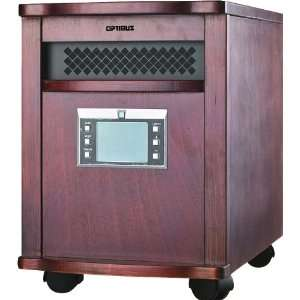 Optimus H 8010 Infrared Quartz Heater with Remote Control
