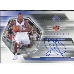 Authentic Signatures #CR Jamal Crawford Autograph Sports Collectibles