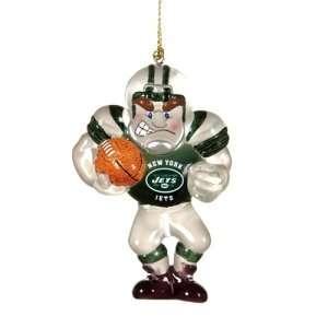 New York Jets NFL Acrylic Football Player Ornament (3.5)