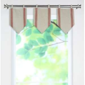 Valances   tab top valance, Palais Ruby  Home & Kitchen