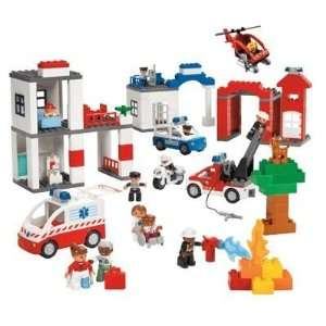 Lego Duplo Rescue Services Set: Toys & Games